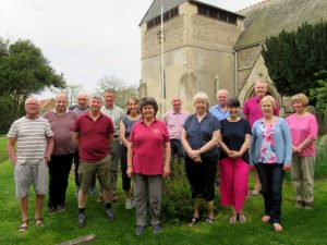 group photo at West Hanney